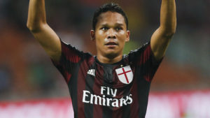 Carlos Bacca is the dangerman for AC Milan