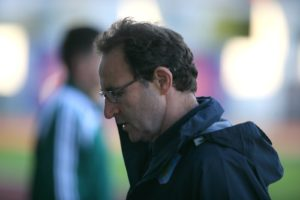 Martin O'Neill (inset) will be hoping for a similar level of performance against Belgium