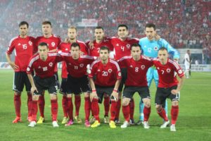 Albania begin their maiden European Championship Tournament against Switzerland