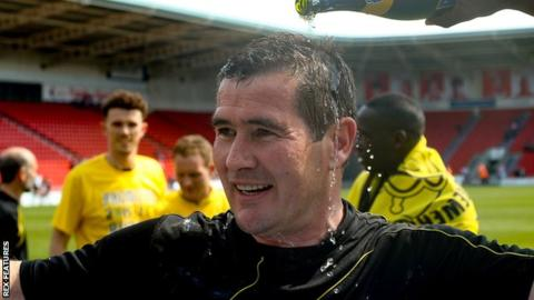 Can Nigel Clough provide another Champagne moment in the EFL Cup?