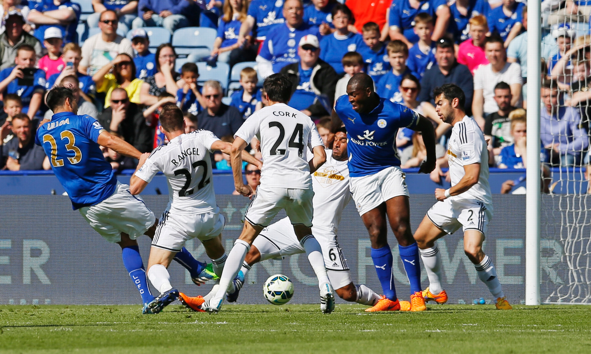Can Leicester register their first win of the season against Swansea?