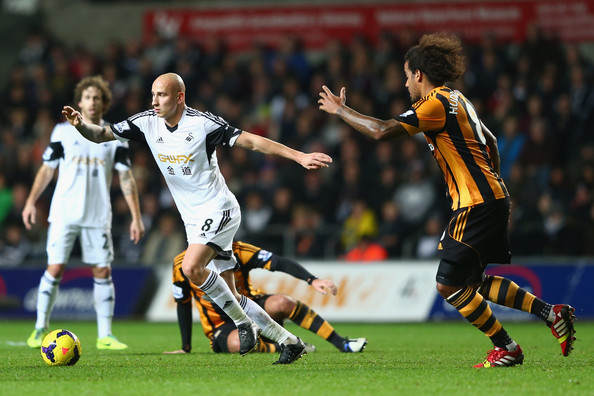 Swansea host newly promoted Hull on Saturday.