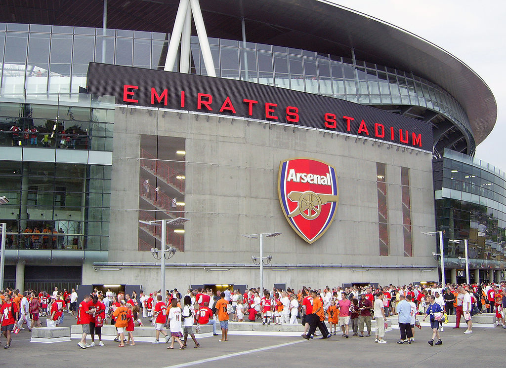 The Emirates hosts Arsenal's opening Champions League game of the season