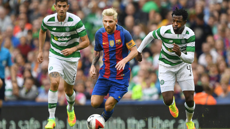 Can Celtic compete against Barcelona?