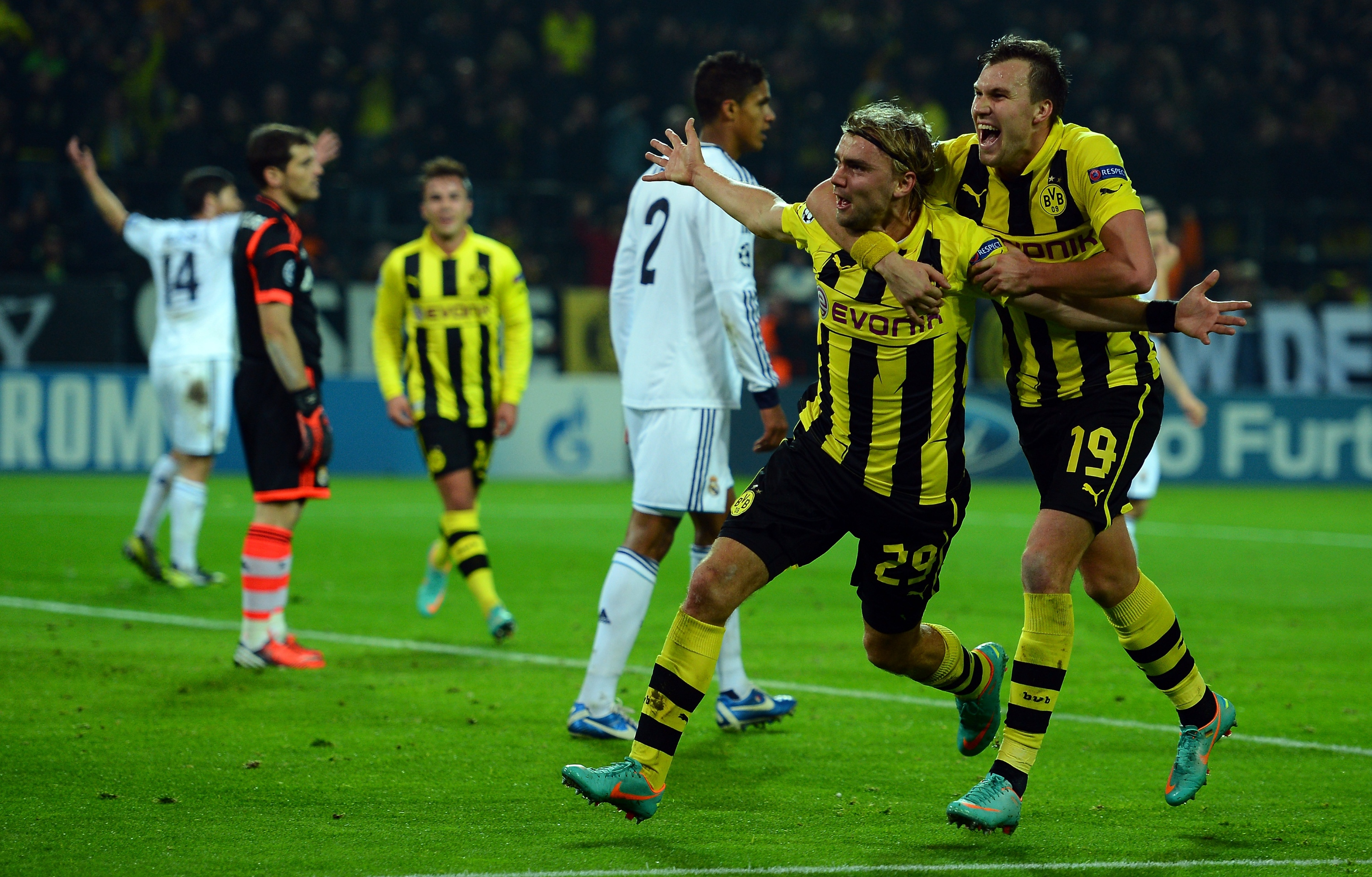 Can Dortmund hand Real their first defeat of this new season?