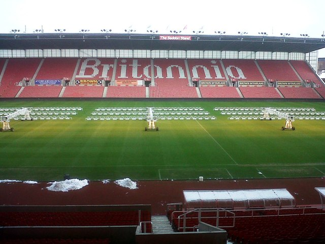 The Bet 365 Stadium hosts a key game for Stoke